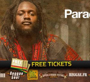 2 Free Tickets to Samory I at Reggae Vibrations Paradiso, March 14, 2018