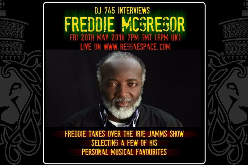 Freddie McGregor Interview